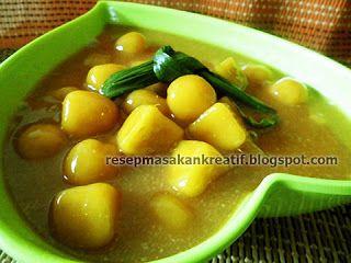 Resep Kolak Biji Salak Candil Enak Praktis Resep Masakan Indonesia Masakan Indonesia Makanan