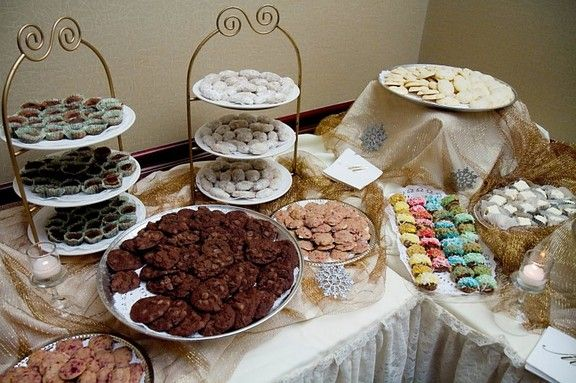 pittsburgh wedding cookie table recipes