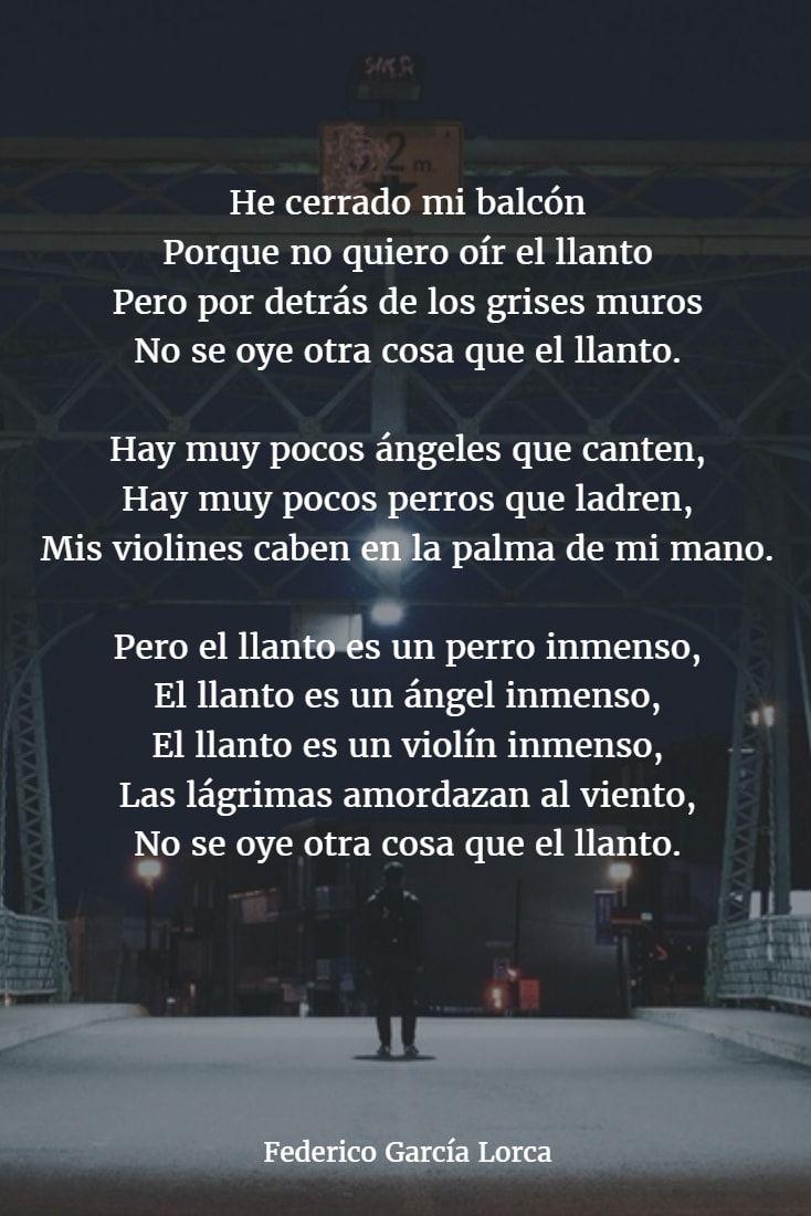 Poemas De Federico Garcia Lorca 4 Garcia Lorca Poemas Frases De Garcia Lorca Poemas Tristes
