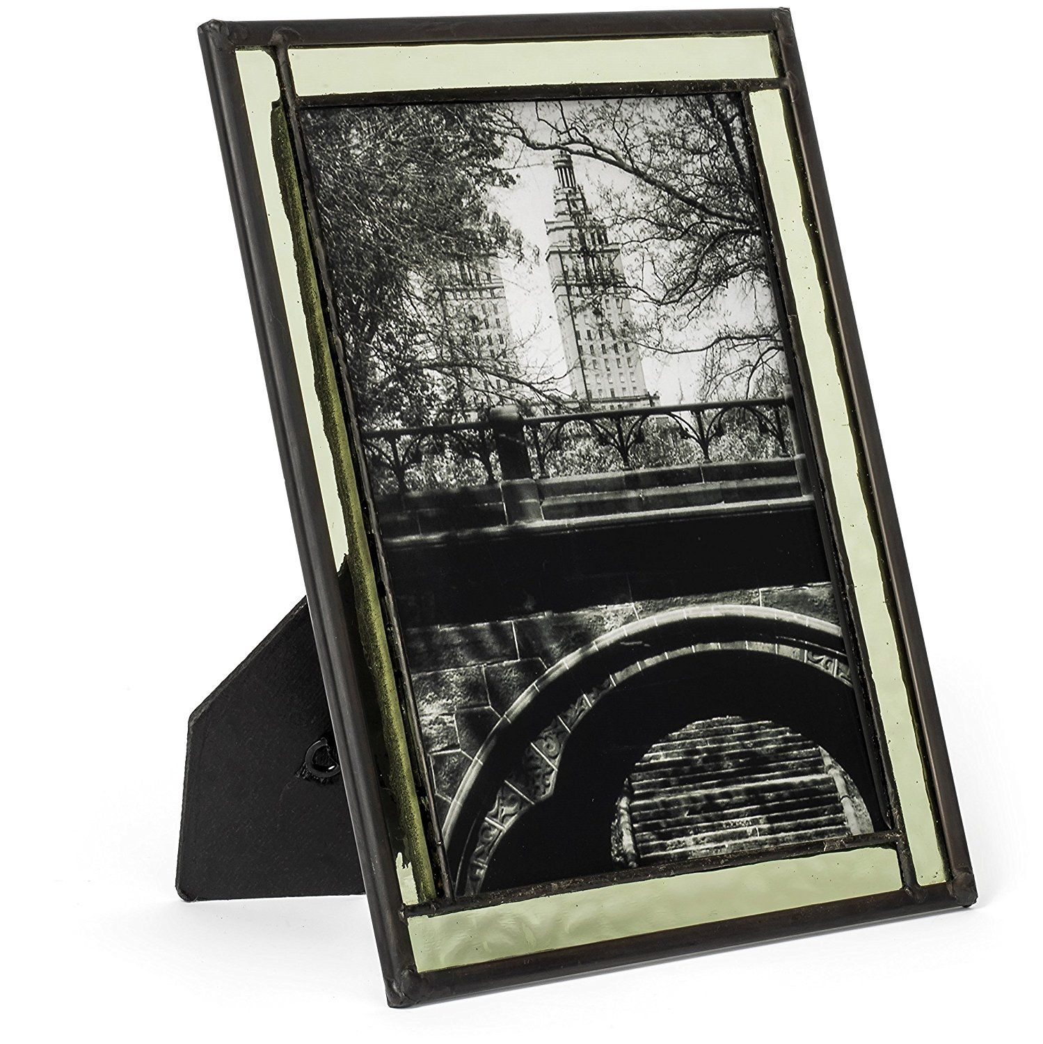 J devlin pic 364 57hv stained glass photo frame sage green 5x7 j devlin pic 364 57hv stained glass photo frame sage green 5x7 easel back frame jeuxipadfo Image collections