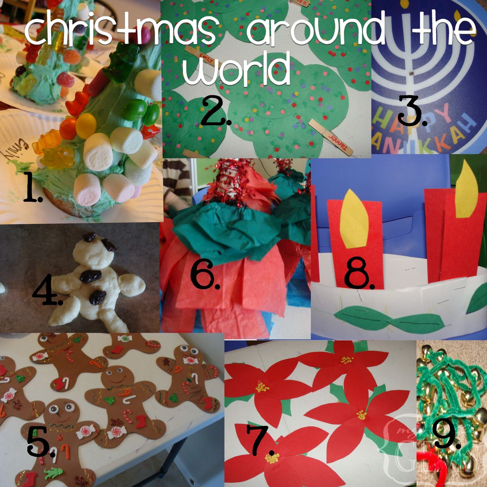 My Little Gems Christmas Around The World Ideas