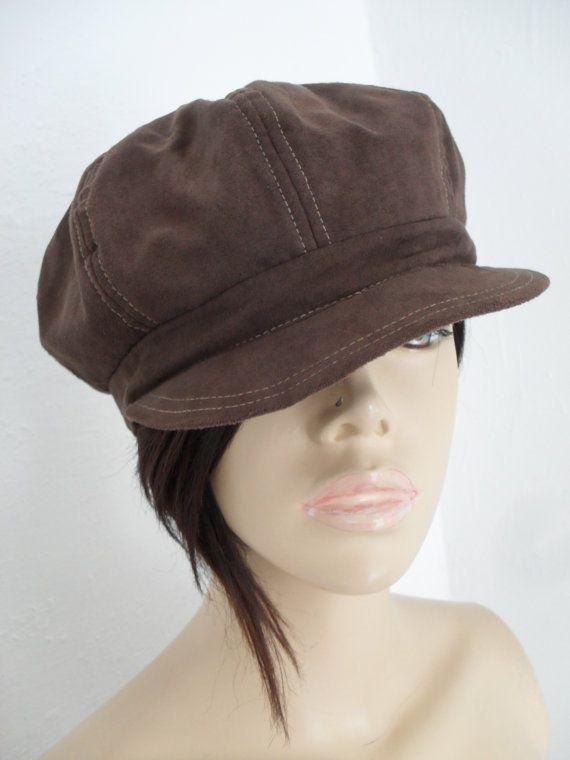 2fea57c60bc Vintage 60s 70s style Floppy Baker Boy Hippie Boho Mod dress hat cap ...