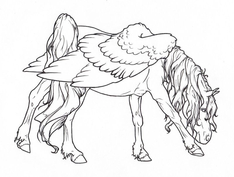 Pin On Coloring Pages Horses Carousel