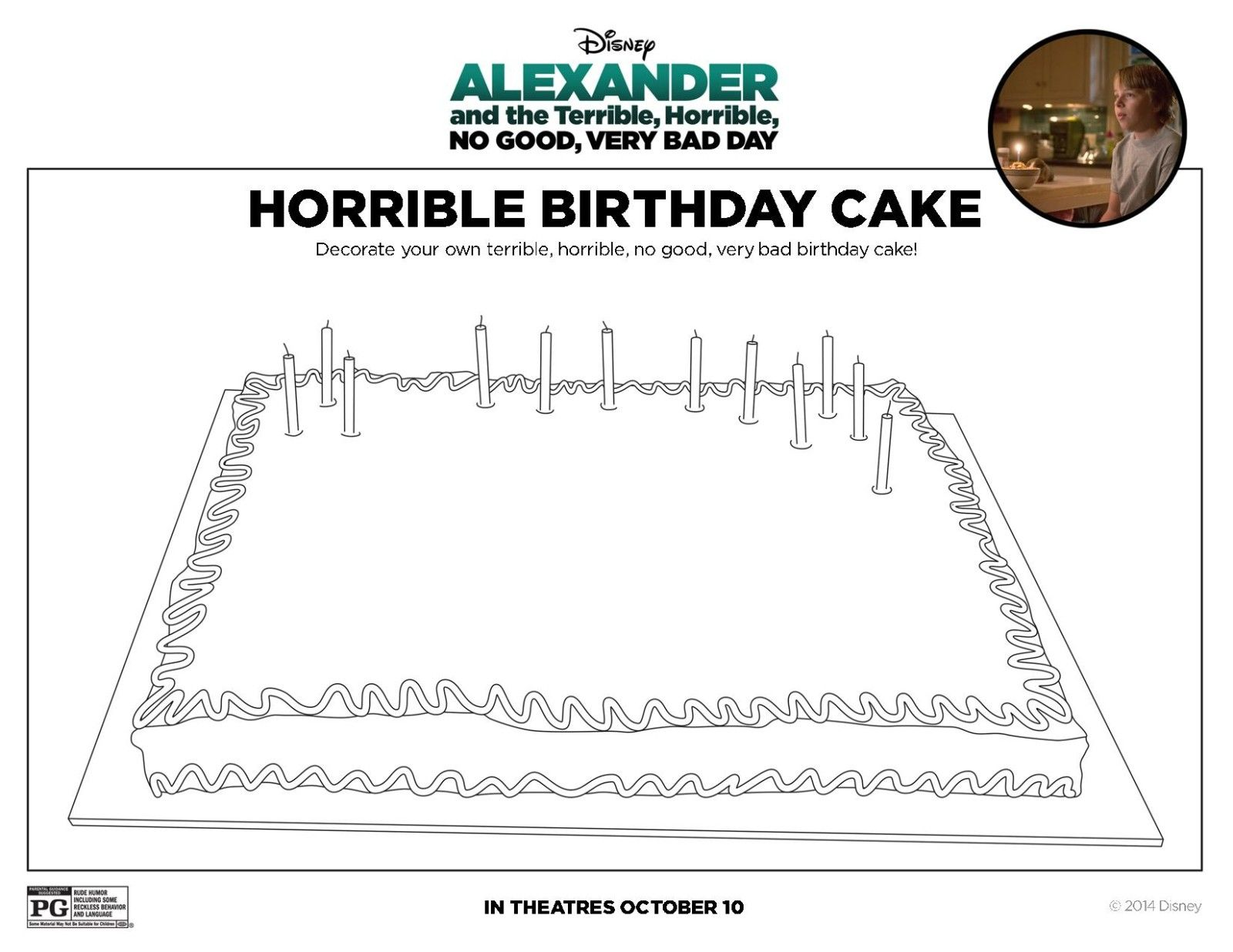 Worksheets Alexander The Great Worksheet alexander and the terrible horrible no good very bad day birthday