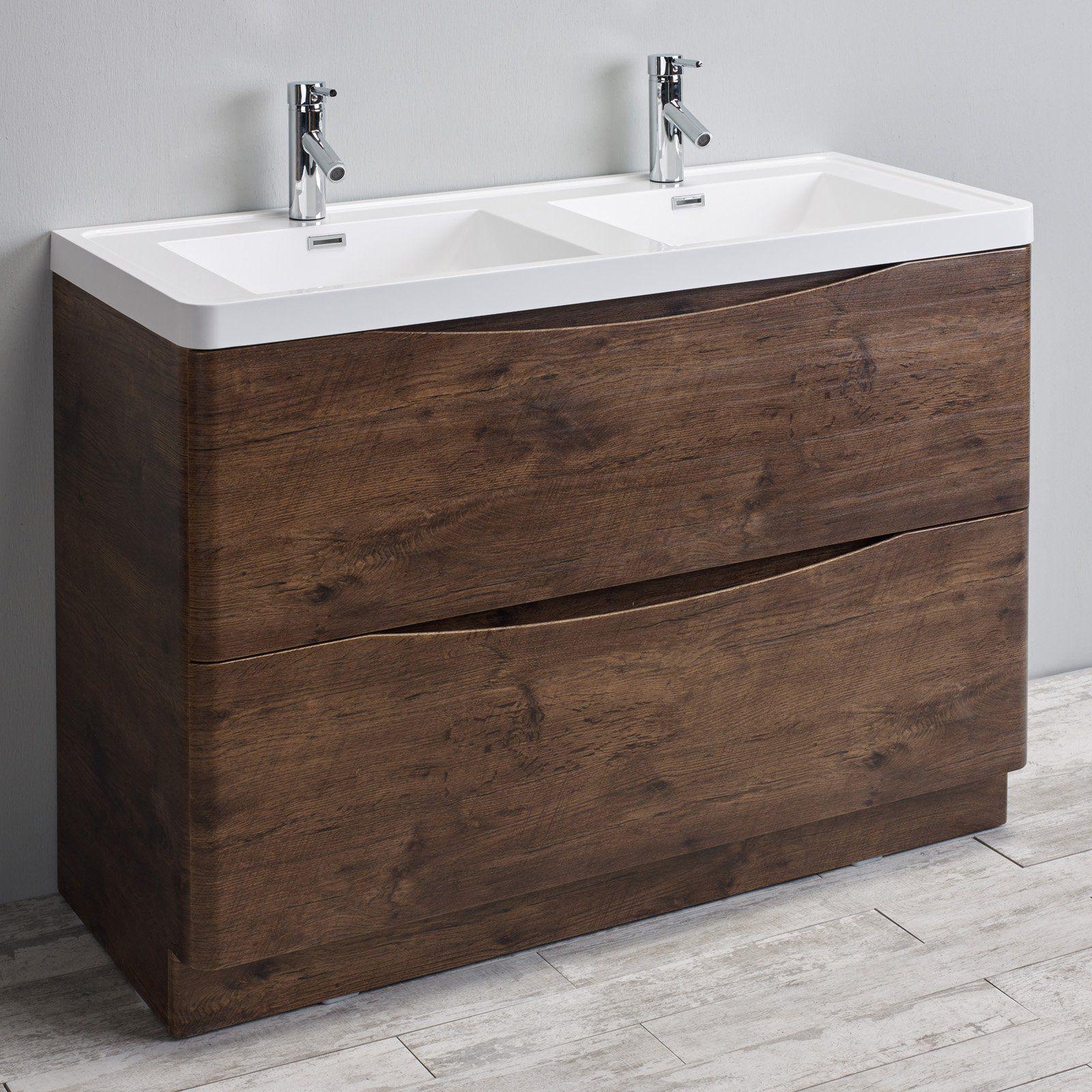 Double Sink Bathroom Vanity Set  Evvn12 Ds 48Whok Fs