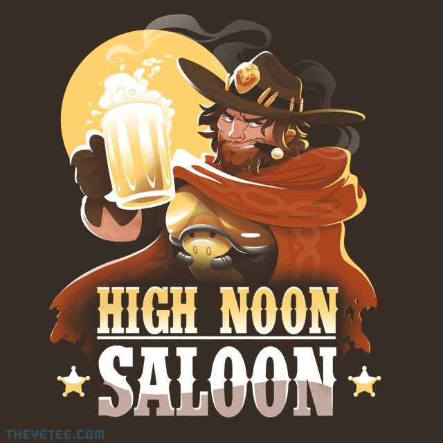 High Noon Saloon By Versiris Today At The Yetee High Noon Overwatch Memes Overwatch