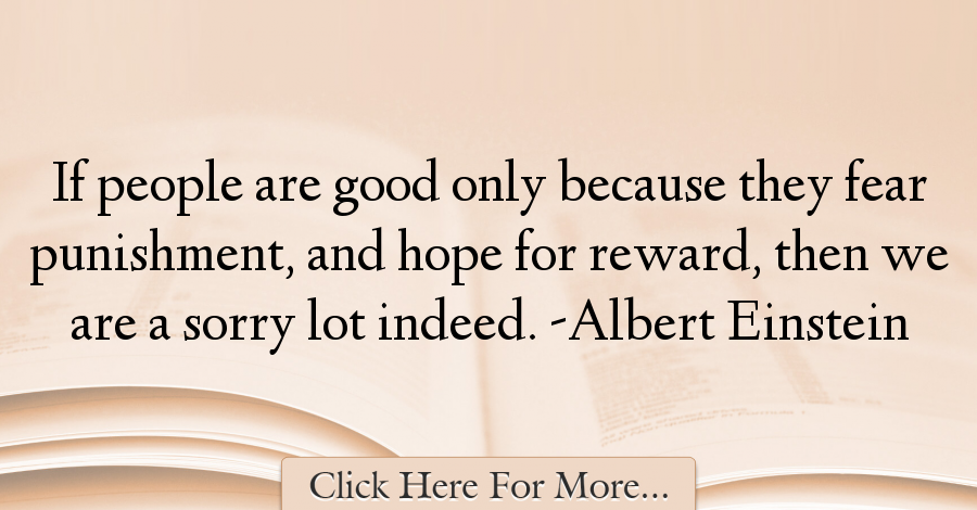 Albert Einstein Quotes About Hope - 35900