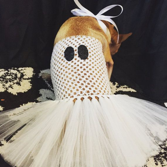 The Spookity ghost dog tutu ghost costume Halloween by TheTwirl & Halloween dog costume ghost dog tutu ghost costume Halloween ...