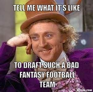 cbf241c8d87a8990592bf07015511ac1 fantasy football draft memes bing images football humor