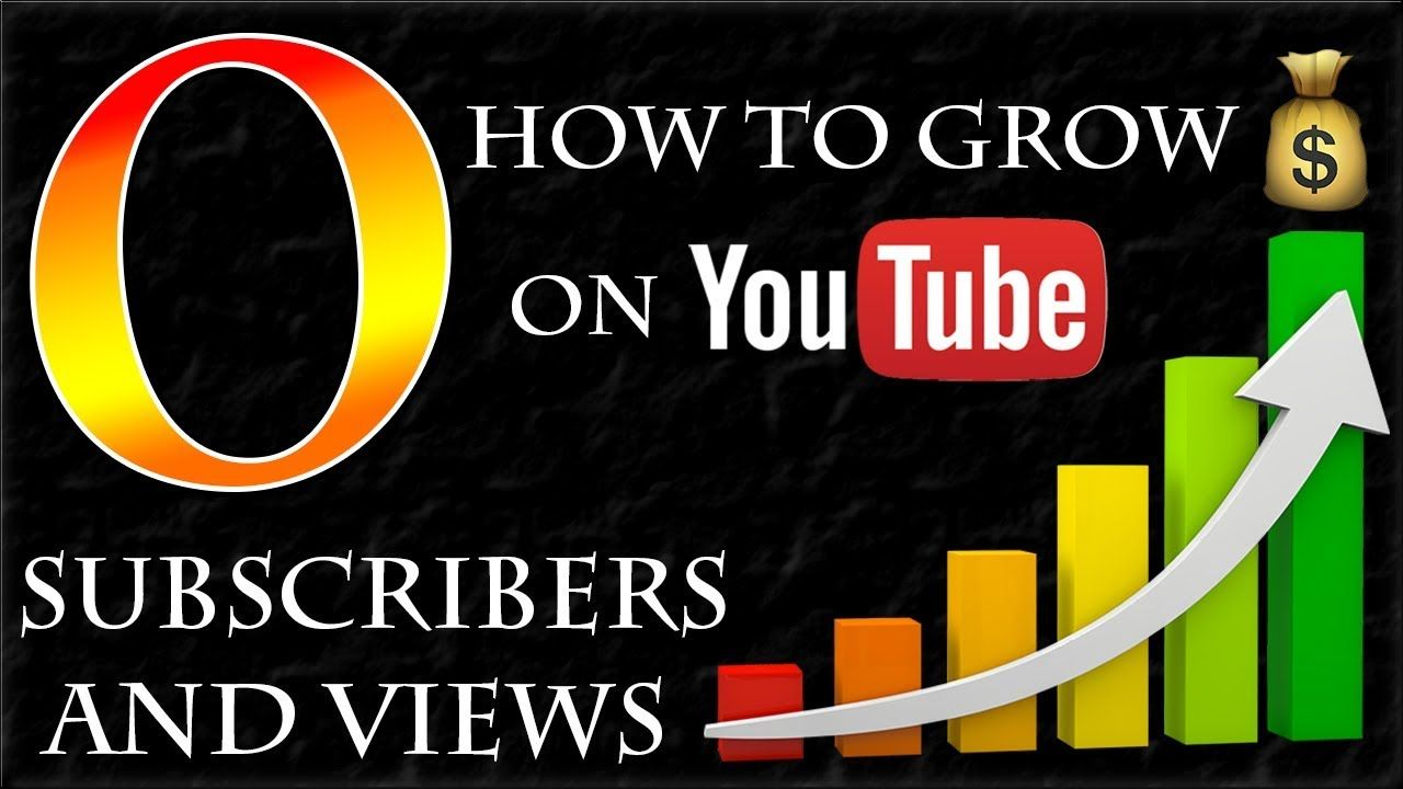 How to Grow on Youtube with 0 Subscribers and Views
