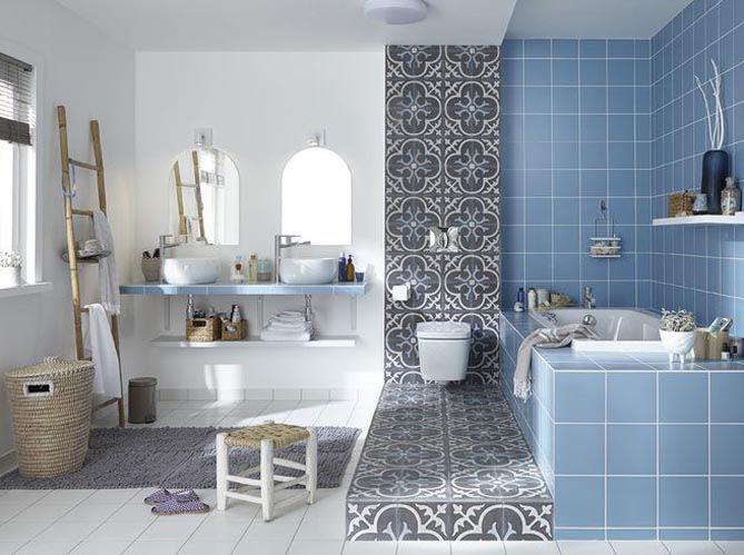 Les 5 bonnes idées de cette salle de bains | Bonnes idées, Salle ...