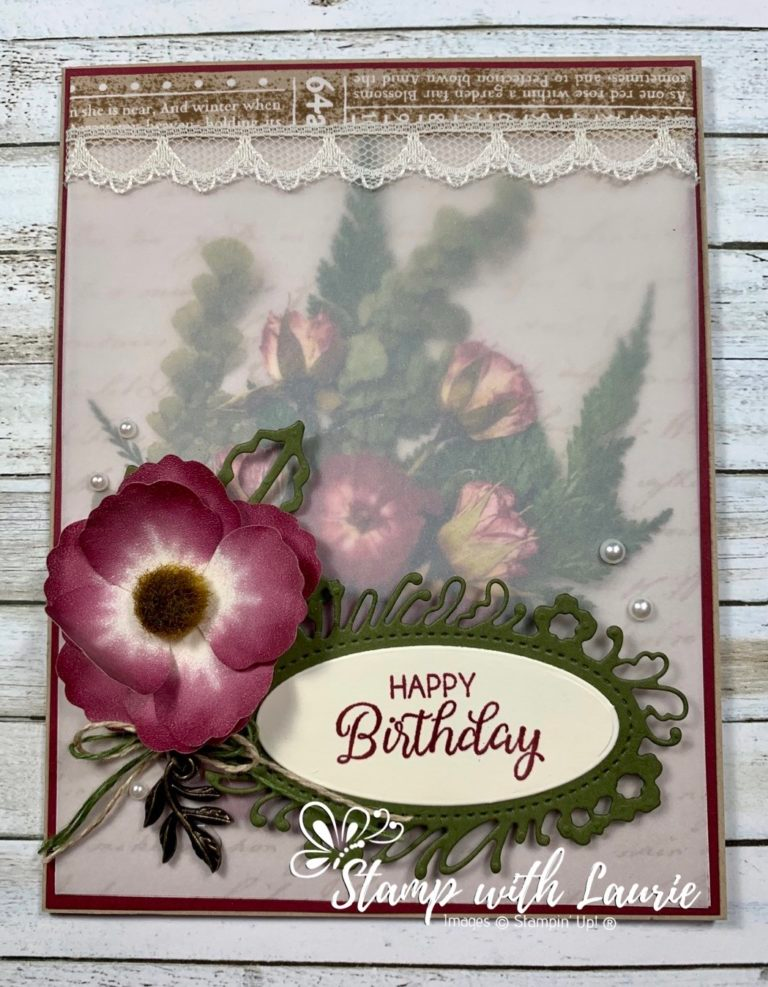 Pin by RuthMarie Franks on Cards in 2020 Petals, Stamp