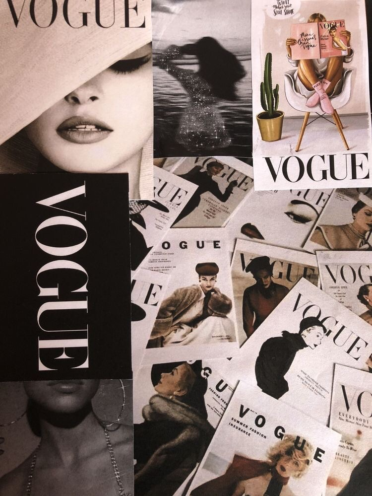 Pin By We Heart It On Wallpapers In 2020 Vogue Wallpaper