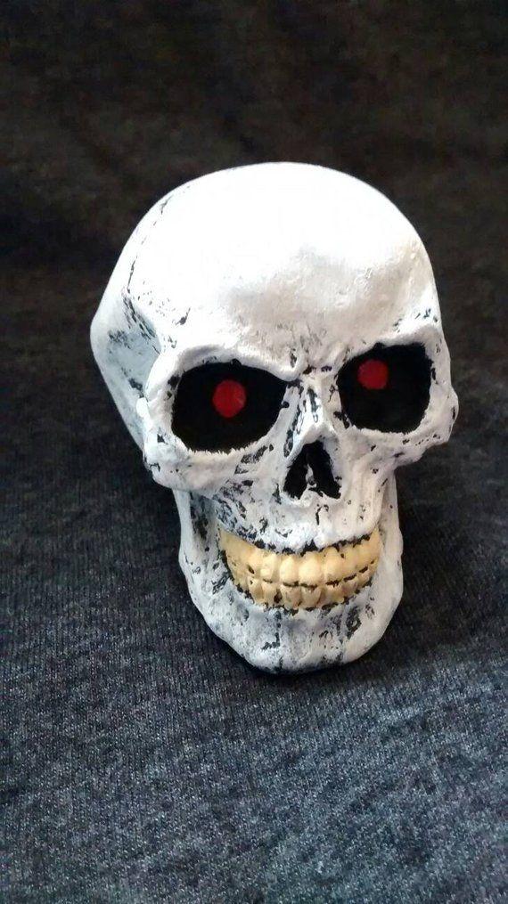 Gothic, Painted skull,mini gifts, Skull, gothic skull, handmade, birthday gift, hand painted, grooms