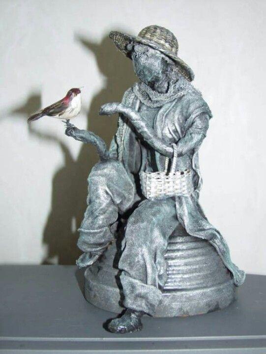 Paverpol beeldje. | Paverpol and powertex sculptures. | Pinterest ...