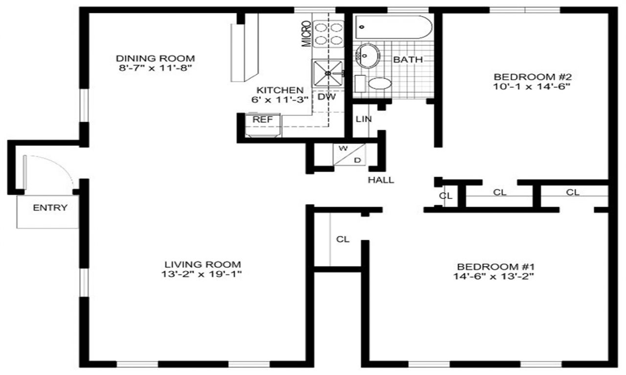 Free Printable Furniture Templates For Floor Plans Floor Plan