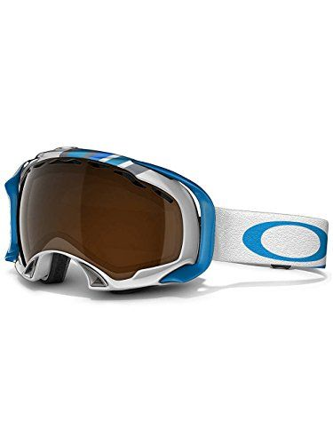 40217dfbc476 Oakley Splice Snow Goggle Slalom Peacock Blue with Black Iridium Lens      Read more at the image link. This is an Amazon Affiliate links.