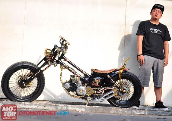 kumpulan modifikasi motor honda c 70