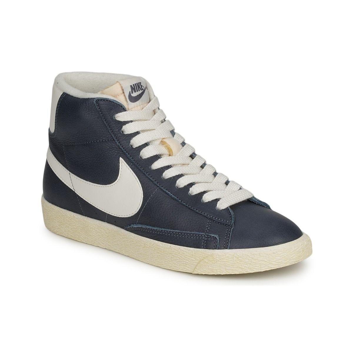 e6564fed35db4 Chaussures Femme Nike BLAZR MID - achat de chaussures en ligne, boutique  chaussure pas cher sur Shoes.fr !
