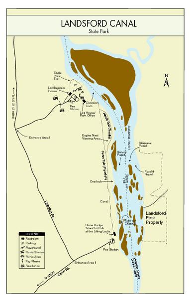 Landsford Canal State Park Map Landsford canal Pinterest Park