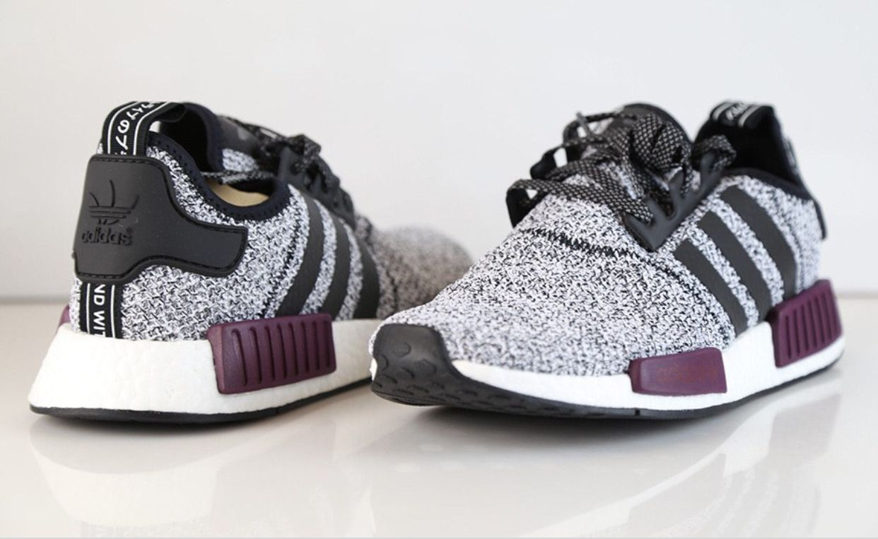 adidas NMD R1 White Burgundy Champs Exclusive Cipők