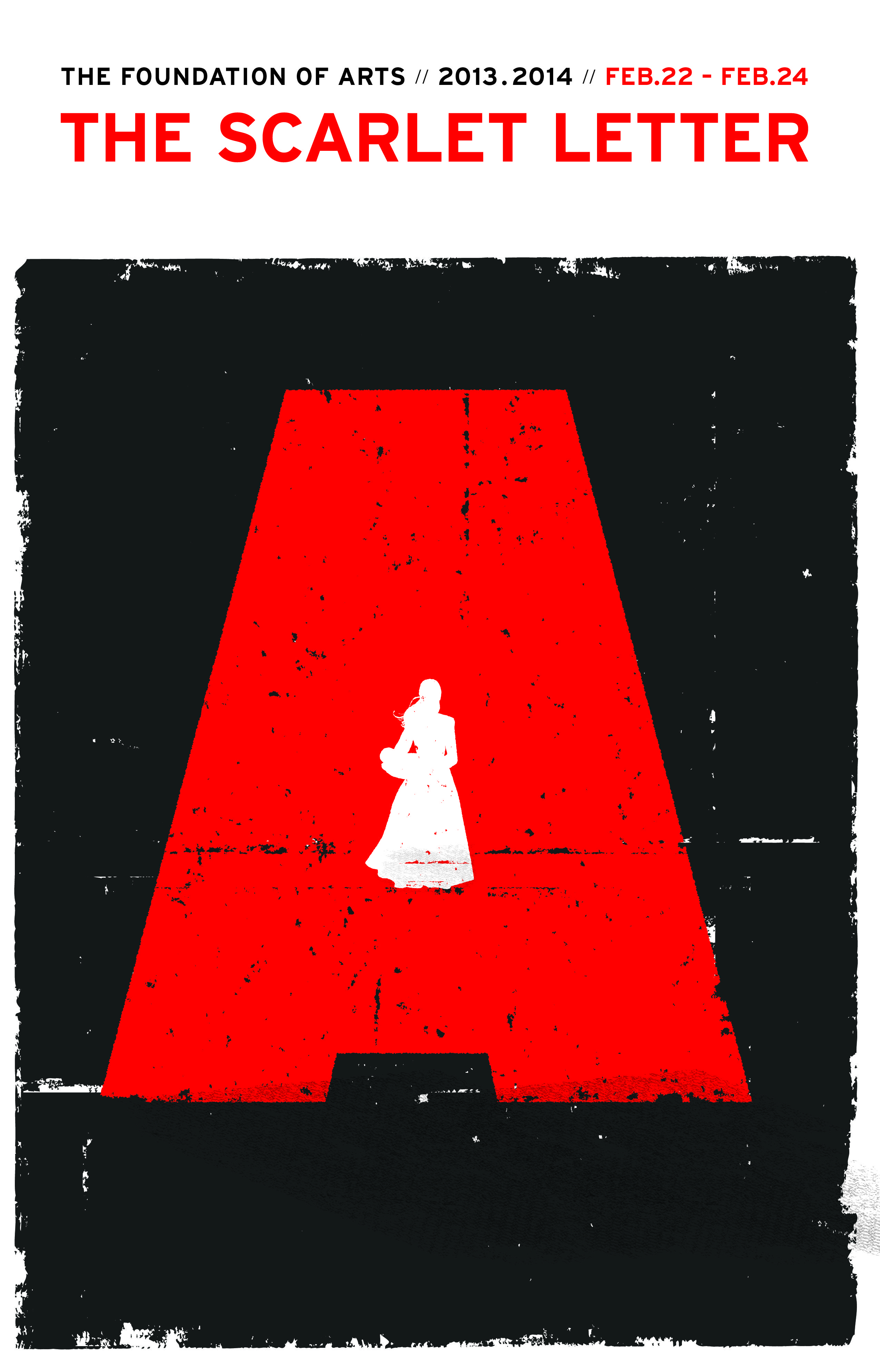 The Scarlet Letter February 22 24 Book Jacket Graphic