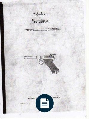 Luger P08 Blueprints | guns | Homemade weapons, Firearms