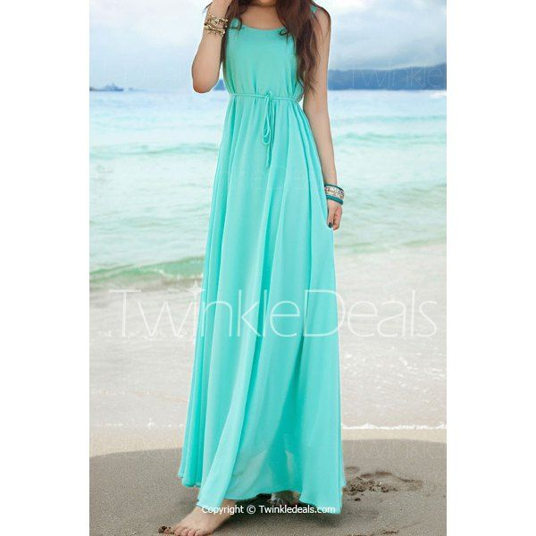 Bohemian Dresses Soild Color