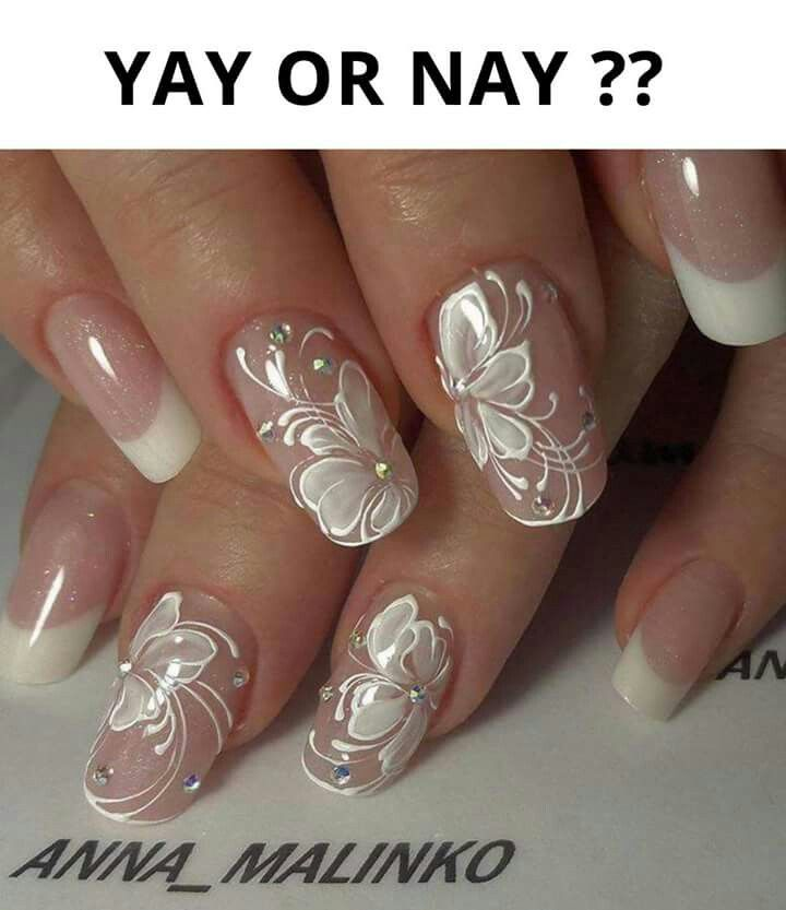 Pin by Tina Rogers-Conley on NAIL\'S | Pinterest | Diva nails, French ...