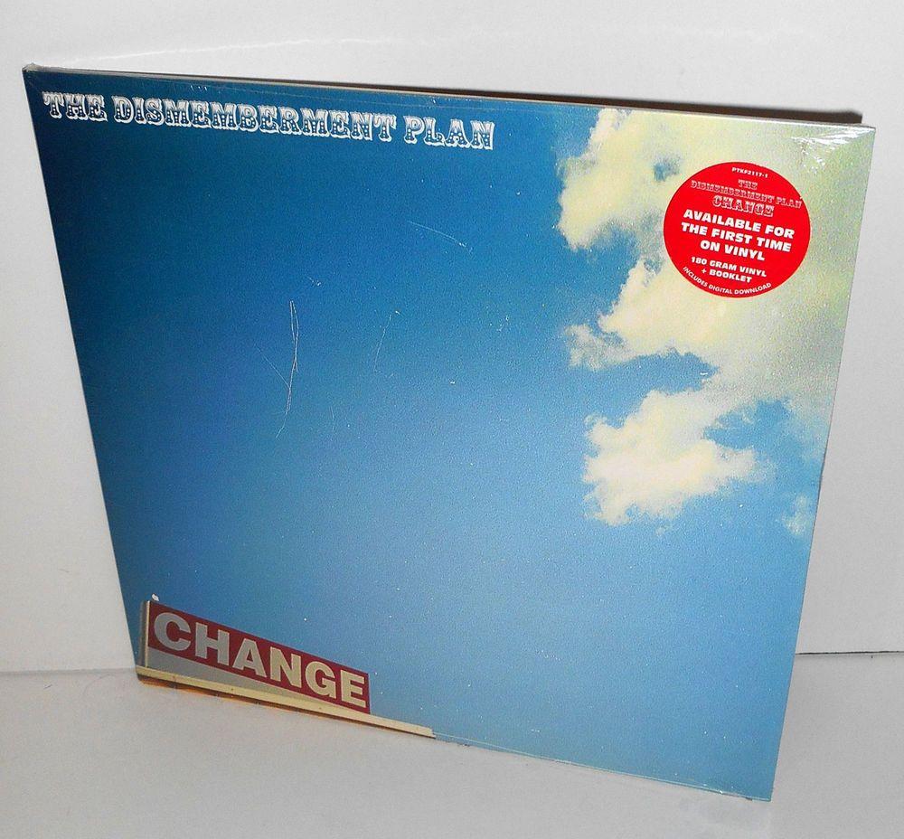 The Dismemberment Plan Change Lp Sealed 180 Gram Vinyl Record And Booklet Alternativeindiepostrock Vinyl Records Lp Vinyl Post Rock