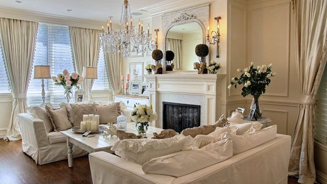 decoration salon style romantique decoration salon style romantique with decoration salon style. Black Bedroom Furniture Sets. Home Design Ideas