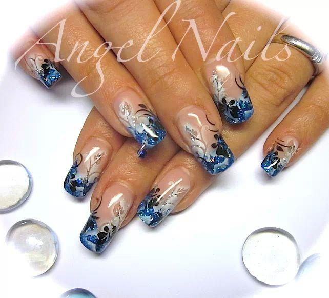 Pin By Rabbit On Airbrush Nägel Airbrush Nails Airbrush Nail Art Nail Art Diy