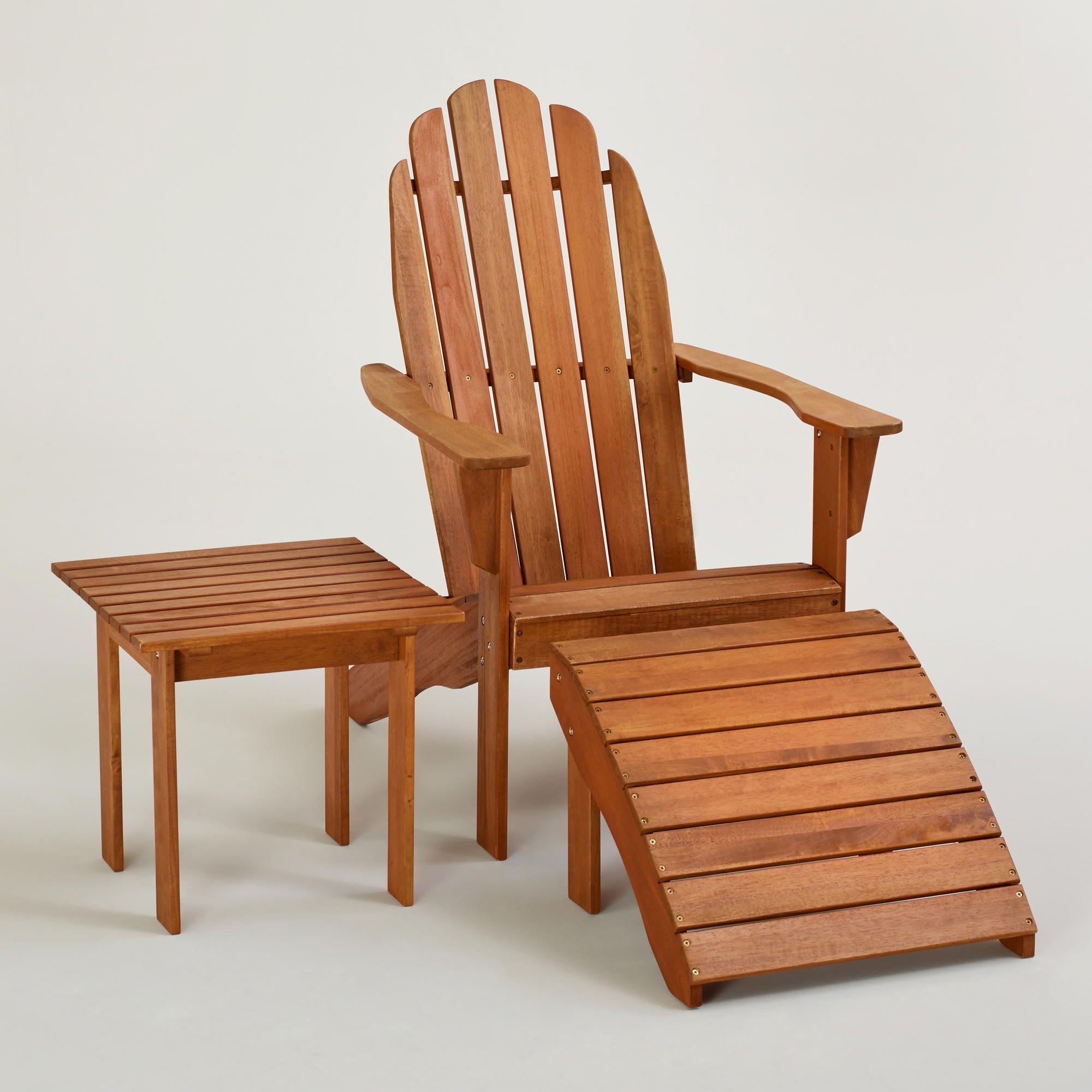 Adirondack Chairs Outdoor Furniture Outdoor Worldmarket
