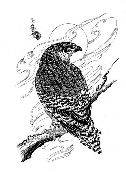 Dragons Snakes Birds Skulls Jack Mosher Tatuirovki V Yaponskom Stile Vostochnye Tatuirovki Tatuirovka Sova