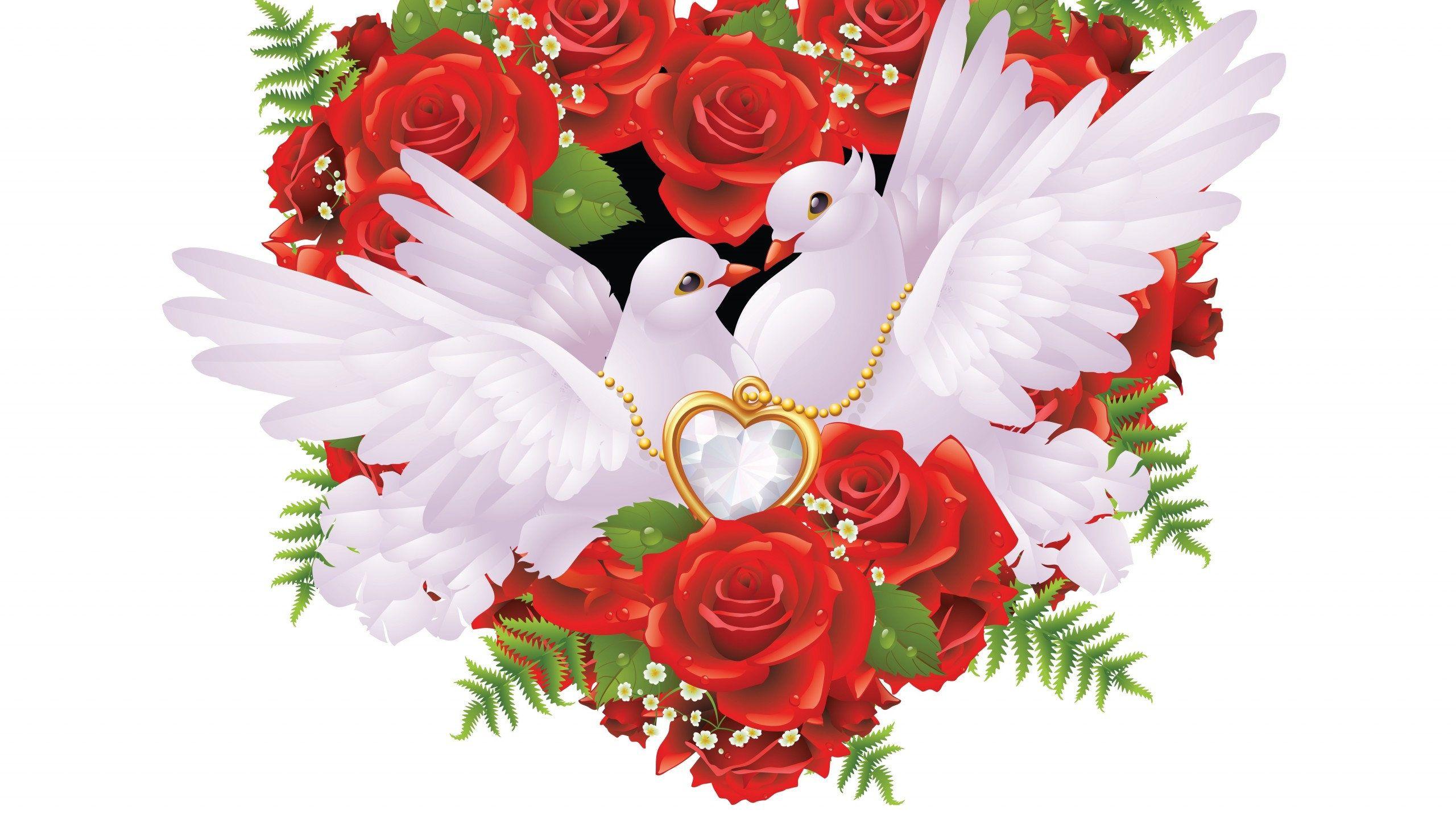 Картинки для свадьбы голуби