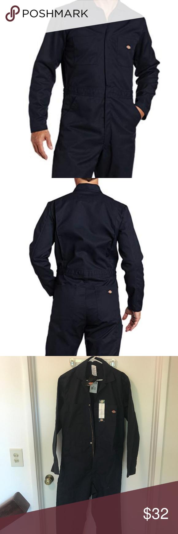 b151cfa14ea89 Dickies Men's Basic Blended Coverall, Dark Navy, M NWT Dickies Men's Basic  Blended Coverall
