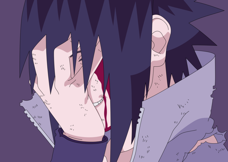 Psycho Sasuke Sasuke Anime Evil