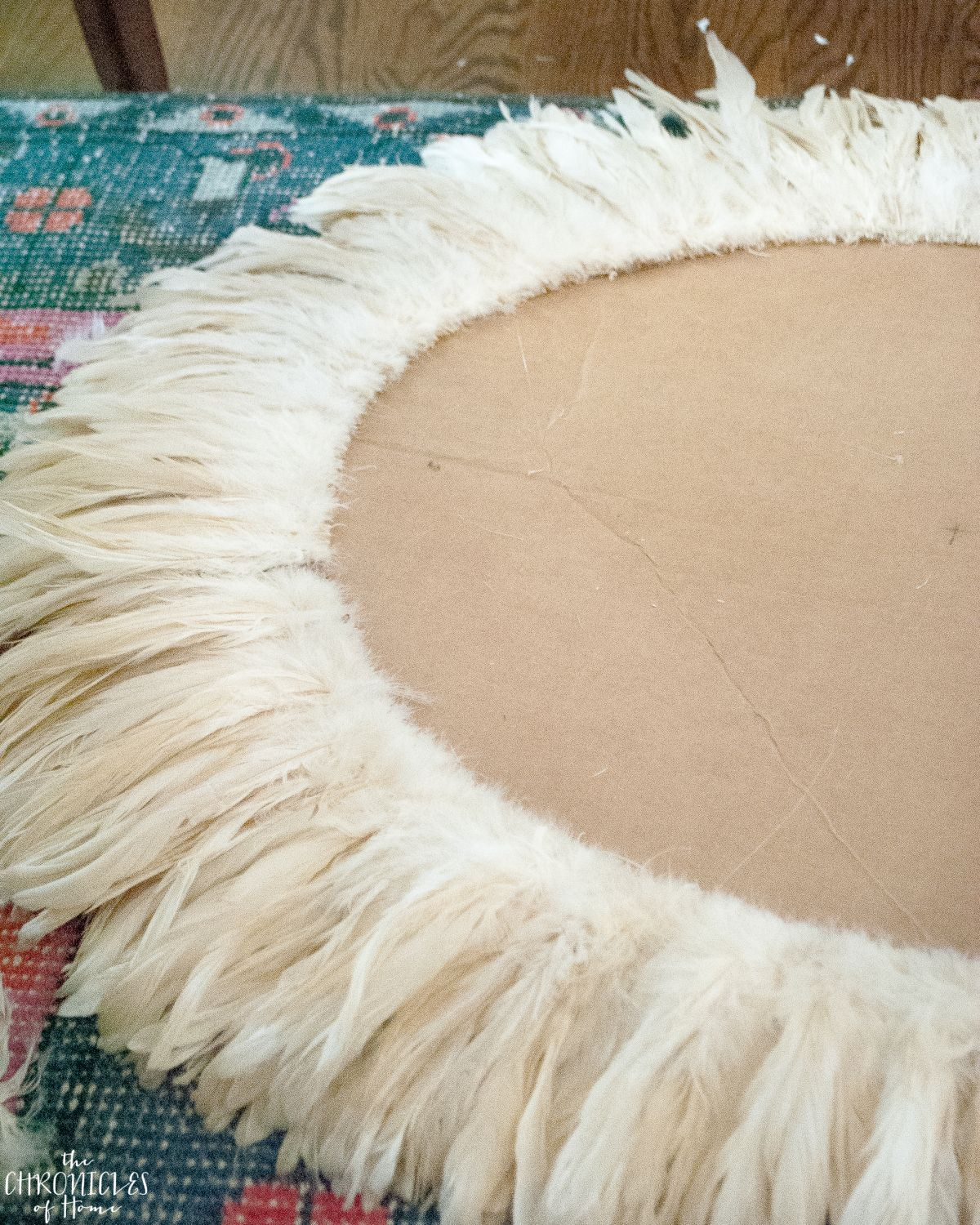 Diy Juju Hat Feather Wall Hanging Crafts Rękodzieło