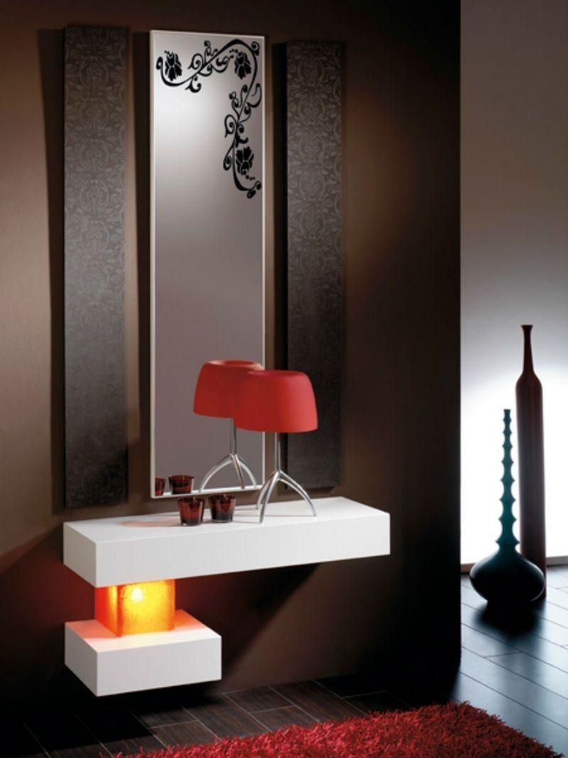 Mueble recibidor moderno dise o 50 dedalo14 recibidores - Mueble recibidor moderno ...