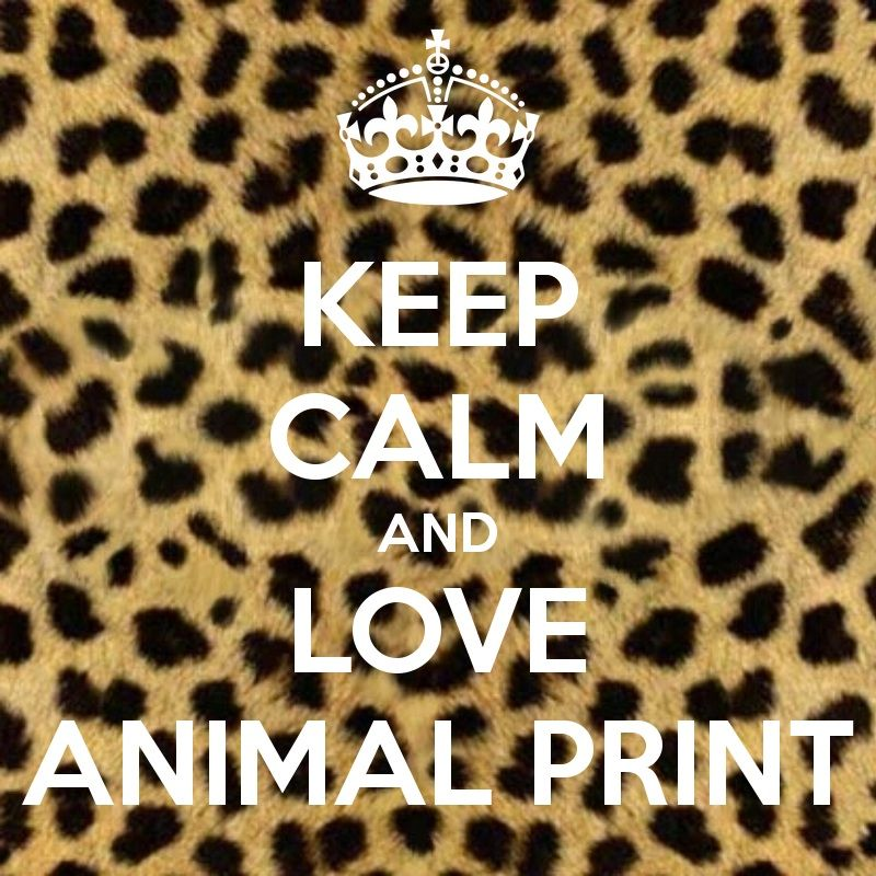 Love <3 animal print