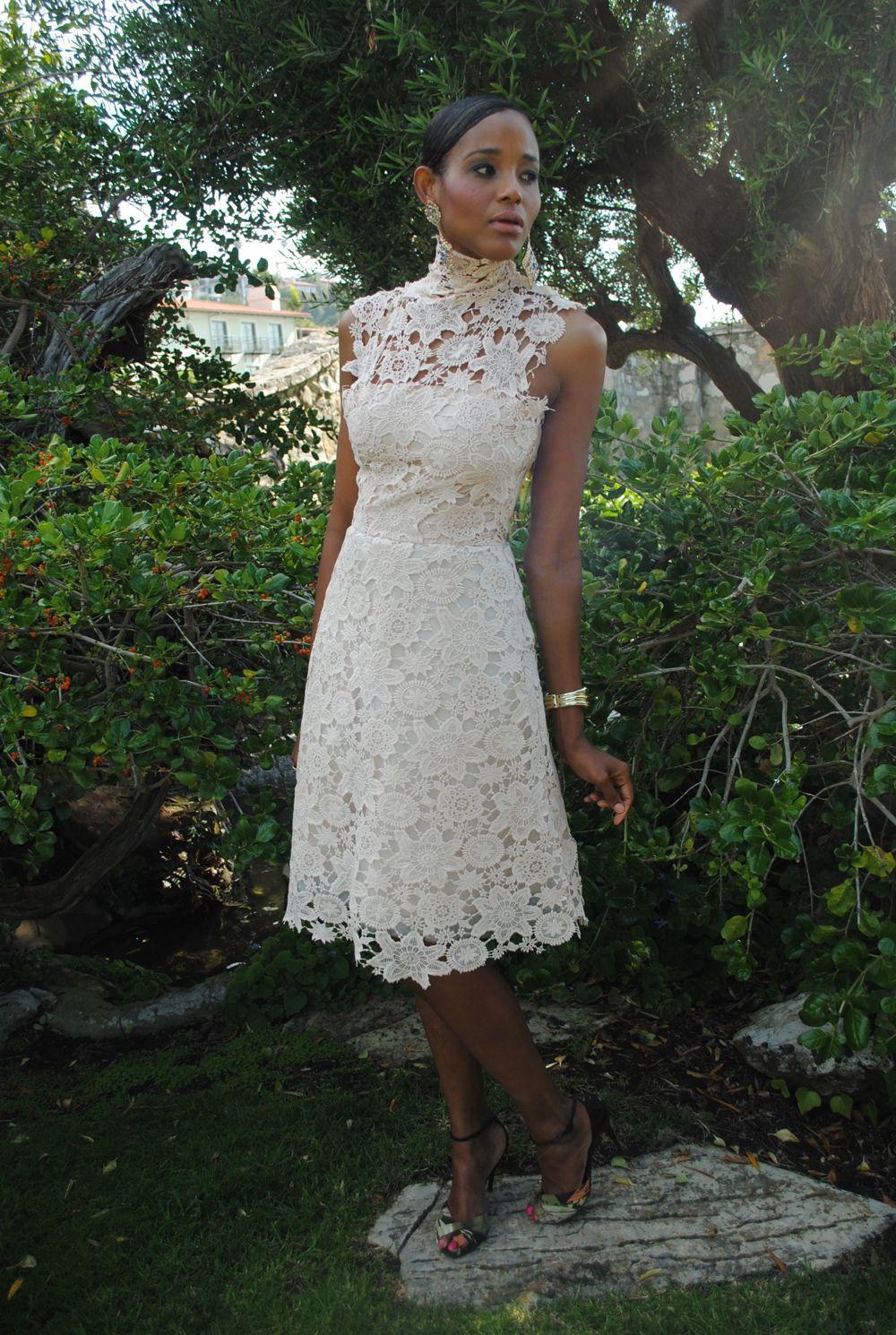 Jolie Lace Dress Tea length dresses, Tea length wedding