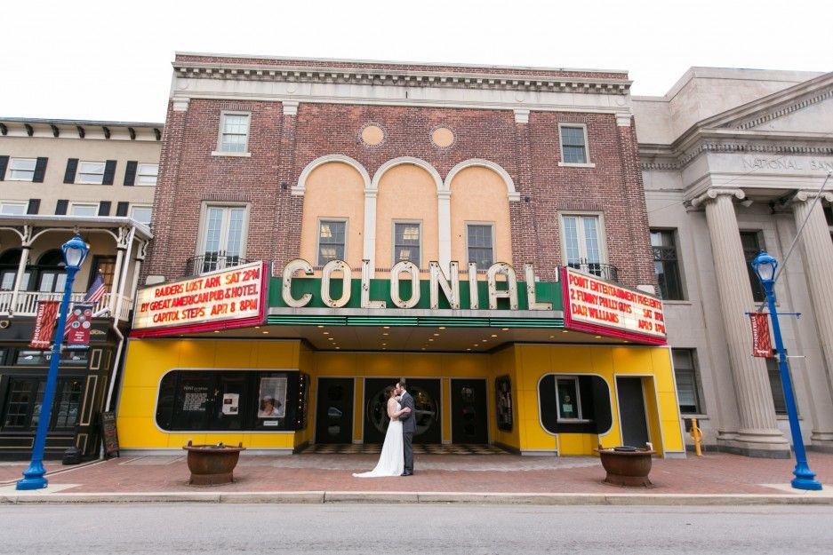 Beth Kyle S Colonial Theatre Wedding In Phoenixville Pa Philadelphia Photographer Carly Fuller Photography