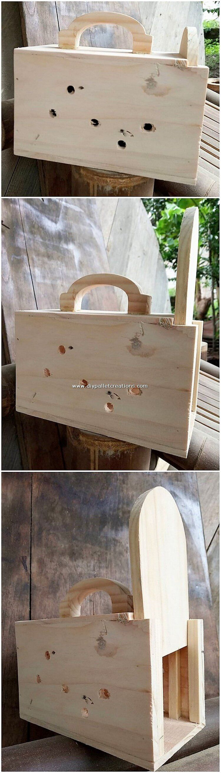 Enchanting DIY Wood Pallet Creations 2019 #oldpalletsforcrafting