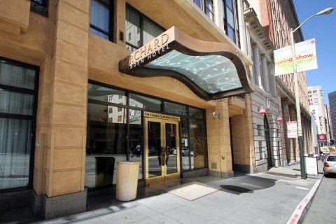 Orchard Garden Hotel. Eco Friendly San Francisco Hotel With Organic Dining  Near Union Square