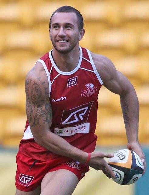 Quade Cooper Reds Queensland Mens tops Tank man MensQuade Cooper Haircut