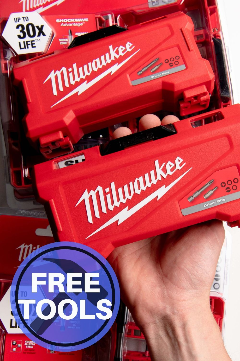Sign up to get your free Milwaukee tool sample delivered to