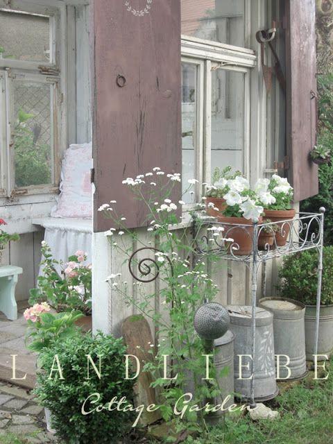 L A N D L I E B E-Cottage-Garden | Deko Garten | Pinterest | Gärten ...