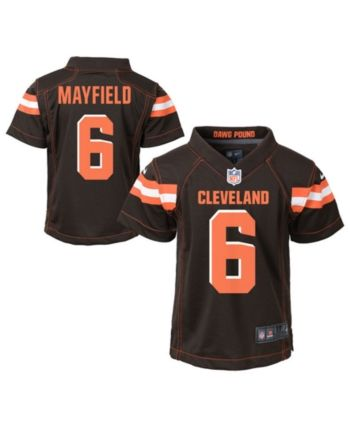 468d59662 Nike Baker Mayfield Cleveland Browns Game Jersey