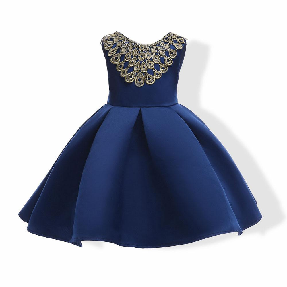 1ba503b14 Child Girls Princess Dress Kids Party Flanger Wedding Bridesmaid Formal  Dresses Attention plz: If your