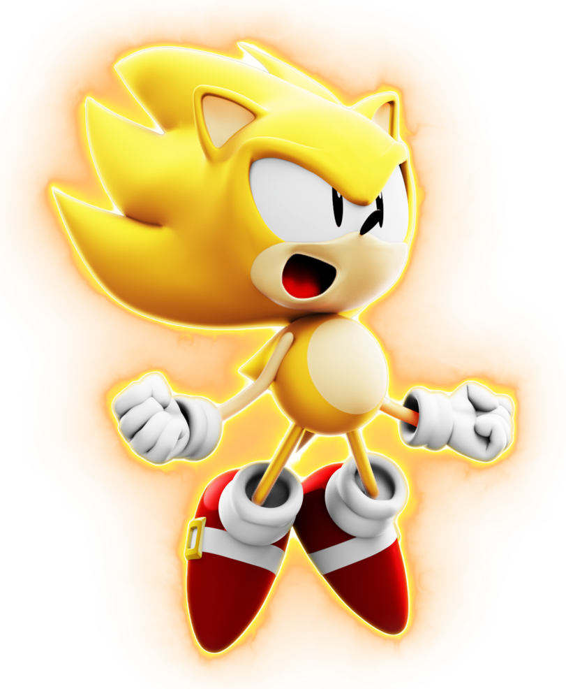 Tyson Super Sonic By Blueparadoxyt Sonic Sonic Party Classic Sonic